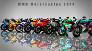 【MMDかっこいいバイク選手権2014】?