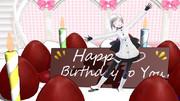 【雪歌ユフ誕生祭2014】ユフりん、ハピバ!