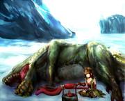 ロケ地氷海