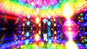 再配布【MMDステージ配布】シャンデリア空間Ver1.2【AL対応スカイドーム D8】