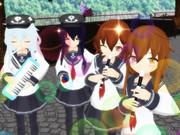 【MMD楽器選手権】第六縦笛隊、出撃なのです!