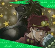 空条承太郎&DIO クリスマスバージョン