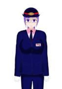 恵友電鉄車掌 多賀咲子(通常制服)