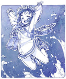 飛び跳ね雪風さん