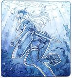 ゆーちゃんの海中遊泳