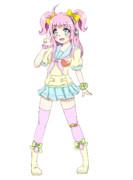 花歌アノコ(UTAU自作音源)キャラクターデザイン