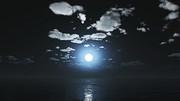 【MMDステージ配布】静かな月夜 U1【スカイドーム】