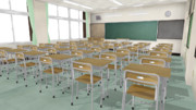 教室と机といす 改