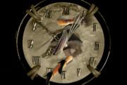 古びた時計