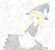 Alice dressed as Marisa
