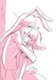 「お返しっ!」