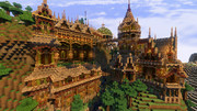 【Minecraft】森の宮殿(作成途中)