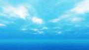 【MMDステージ配布】水彩調の空 CC5【スカイドーム】