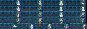 新次元ゲイム ネプテューヌⅤⅡ ステータス比較表99/399/699/999