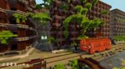 【Minecraft】浪漫電車ハウス(壁紙)