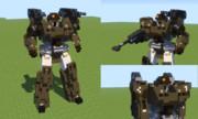 【Minecraft】フレームアームズ 轟雷風