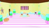【MMD】お菓子ステージ【ステージ配布】