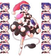 【紺珠伝体験版ネタバレ】バトルっぽいドレミー立ち絵 表情差分