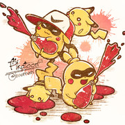 【Splatoon】ピカトゥーン!!【ピカチュウ】