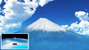 【MMDステージ配布】モブ富士山 ST03 Ver1.2