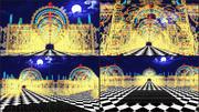 【MMDステージ配布】電飾空間 ST18【AL対応】