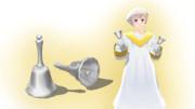 銀のハンドベル