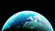【MMDステージ配布】水の惑星 EE9【スカイドーム】