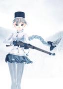 【第五回ガンアクションinMMD】雪上戦