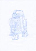 【スター・ウォーズ】R2-D2を描いてみた