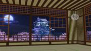 【MMDステージ配布】夜桜城 ST25【AL対応】