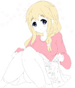 DOLLY GIRL ムギちゃん (落書き)