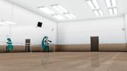 ダンススタジオ ver1.10【MMDステージ配布】