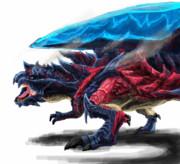 灼熱の刃 斬竜 ディノバルド