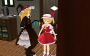 【第7回東方ニコ童祭Ex】とある日の魔法店にて