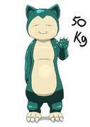 カビゴン 50キロ