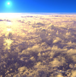 View from FL320
