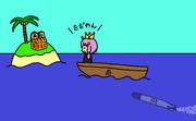 舟囲い崩しのイメージ
