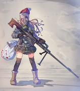 リア充をやっつけてくれる武装サンタ