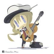 弾けないギターをそれっぽく持つツェッペリン