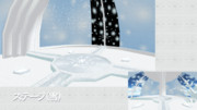 ステージ(雪)
