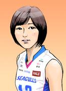 居村杏奈選手(岡山シーガルズ)