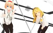 アリスと魔理沙 2