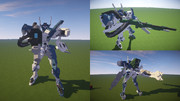【Minecraft】不知火・弐型 Phase1《試製99型電磁投射砲装備》