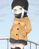 響ちゃんと雪の日にお出掛けしたい
