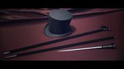 【MMD】紳士セット Ver.1.0【アクセサリ配布】