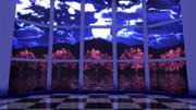 【MMDステージ配布】夜桜の部屋 ST40【AL対応】