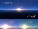 ++skies; 025 [16k8k/8k4kスカイドーム素材配布]