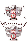 重巡棲姫型目覚まし時計