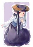 らくがき角娘2