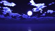 【MMDステージ配布】のどかな月夜 QQ3【スカイドーム】